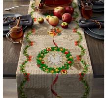 Дорожка Новогодняя в подарочной коробке 220*50 см.