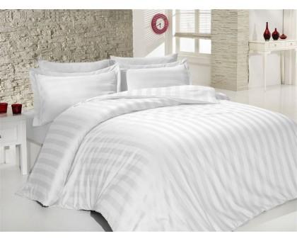 Комплект постельного белья КПж6 Страйп-сатин отбеленный 150 Хлопок 100%