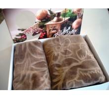 Набор махровых полотенец КПЦС2601/3501-2532 Ceanelly Хлопок 100%