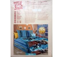 Комплек постельного белья СВИТ 1,5 3D Бязь 125 гр/м2, Хлопок 100%