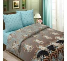 Комплект постельного белья Традиция КПБ 1,5 спальный Бязь 145 гр/м2 Хлопок 100%