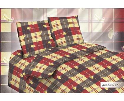 Комплект постельного белья Нежность люкс 1,5 бязь 125гр/м2  Хлопок 100%