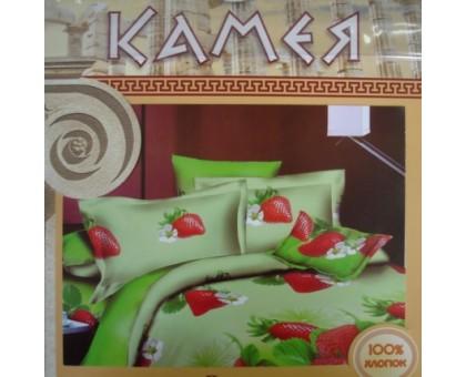 Камея Поплин 1,5 Комплект постельного белья Поплин 145гр/м2  Хлопок 100%