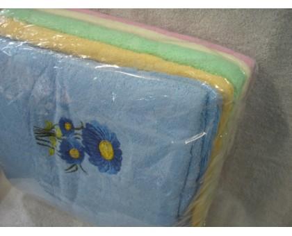 Полотенце банное махровое Комплект 6 шт. БГ306 6 70*140 см. Хлопок 100%