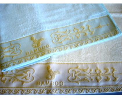 Полотенце банное 65*135 см. Состав 70% бамбук, 30% хлопок