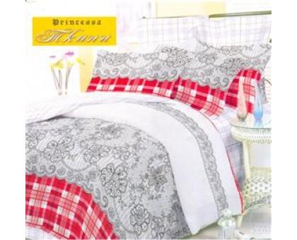 Комплект постельного белья Юнона Евро бязь 125гр/м2  Хлопок 100%