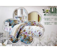 Комплект постельного белья Lily 160 Сатин 145гр/м2  Хлопок 100%