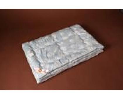 Одеяло стёганое (облегченное) шерсть меринос 100%, покрытие бязь Хлопок 100% ОШп2 172*205 см.