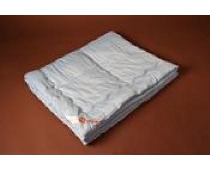 Одеяло стёганое (облегченное) шерсть меринос 100%, покрытие бязь Хлопок 100% ОШп3 210*220 см.