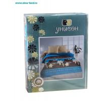 Комплект постельного белья Унисон биоматин NEW КБУбм-10 1,5 Упаковка типа книжка