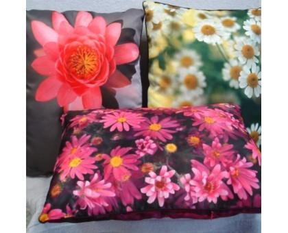 Подушка диванная ПД-Ф с транферной печатью 2х сторонняя 50*50 см.