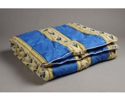 Одеяло стёганое холлофайбер плотность 200г/м2. Покрытие поликоттон ОП1,5 сп.