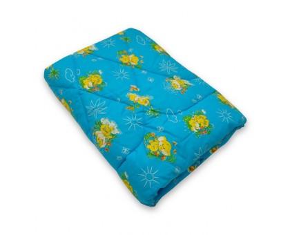 Одеяло стёганое меринос 100%, покрытие бязь Хлопок 100% ОШП18 110*140 см.