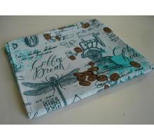 Вафельное полотенце с напечатанным рисунком  ПКв11 1/10 35*60 см. Хлопок 100%