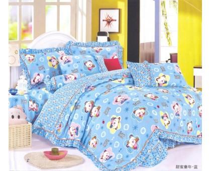 Комплект постельного белья Яселька Детский Сатин 145гр/м2  Хлопок 100%