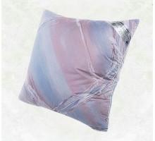 Подушка пухо перовая, 30% пуха, Наволочка тик цветной ПП22 70*70 см.