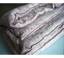 Одеяло стёганное ОШК 200*230 см. Покрытие полисатин Хлопок 100%