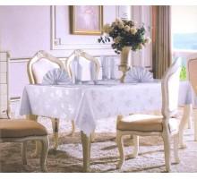 Скатерть жаккардовая с 8 салфетками Fabric Tablecloth 150*220 см.