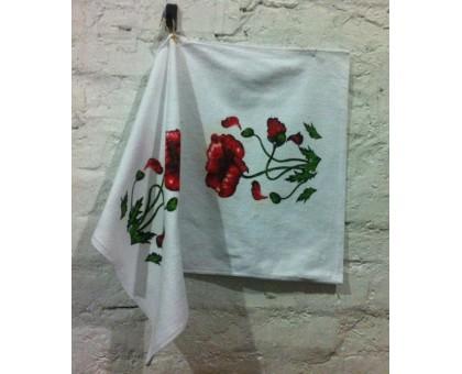 Кухонное махровое полотенце с Крючком КГ4 10 шт. Хлопок 100%