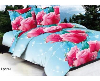 Комплект постельного белья Павлина арома/сатин Евро Сатин 145гр/м2  Хлопок 100%