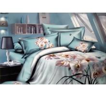 Комплект постельного белья 3D Сатин 145гр/м2  Хлопок 100%
