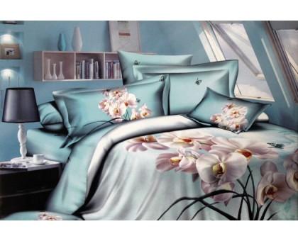 Комплект постельного белья КПК12 3D Сатин 145гр/м2  Хлопок 100%