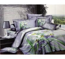 Комплект постельного белья КПК21 Сатин 145гр/м2  Хлопок 100%