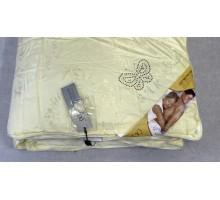 Одеяло стёганое с шёлковым наполнителем ОШ4 160*200 см. Покрытие Сатин Жаккард Хлопок 100%