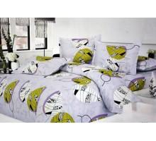Комплект постельного белья КПК3 Сатин 145гр/м2  Хлопок 100%