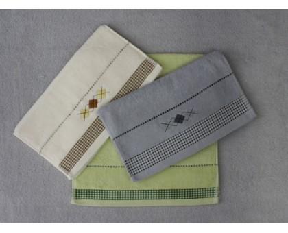Полотенце махровое ручное РГ108 10 шт. 35*70 см.