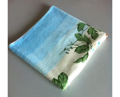 Полотенце махровое с односторонним напечатанным рисунком БО301 80*150 см. Хлопок 100%