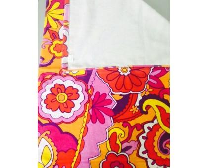 Полотенце махровое с односторонним напечатанным рисунком БО307 70*150 см. Хлопок 100%