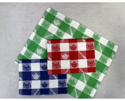 Кухонное льняное полотенце ПКЛ11 20шт. 35*60 см. Хлопок 60% Лен 40%