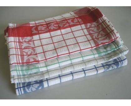 Кухонное льняное полотенце ПКЛ12 20шт. 25*50 см. Хлопок 60% Лен 40%