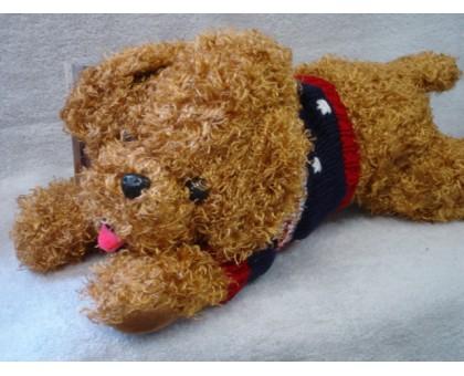 ПХК306-4 Собака в очках 23 см.