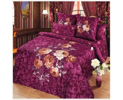 Комплект постельного белья Камея сатин 1,5 Сатин 145гр/м2  Хлопок 100%
