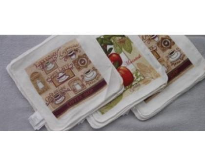 Махровая салфетка для кухни КГ8 20 шт. 30*30 см.