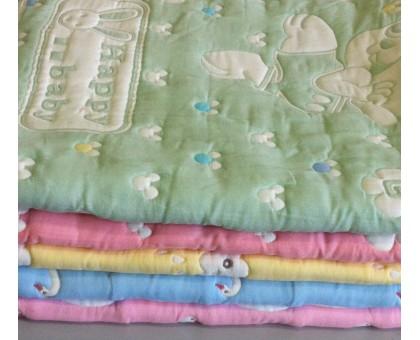 Одеяло хлопковое стёганное ОХБ2 Xiybubeibi 115*115 см.