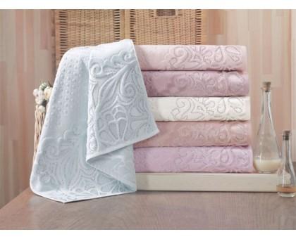 Набор махровых полотенец 50*90 см. KUMSAL 3010 6 шт.