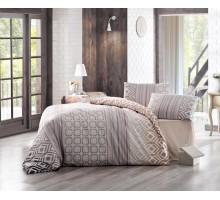 Комплект постельного белья CREAFORCE 1.5 + нав. 50*70 -1шт. Сатин 145 гр/м2 Хлопок 100%