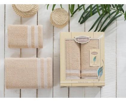 Набор махровых полотенец 2х предметный PETEK 1/2 50*90/70*140 см.