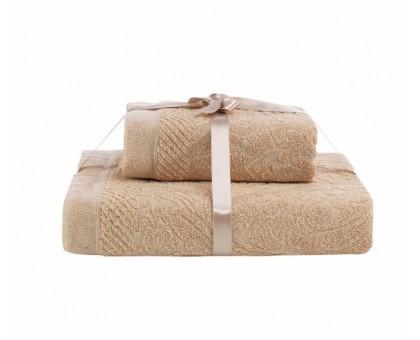 SAVINA 50*90/70*140 Набор махровых полотенец 2х предметный